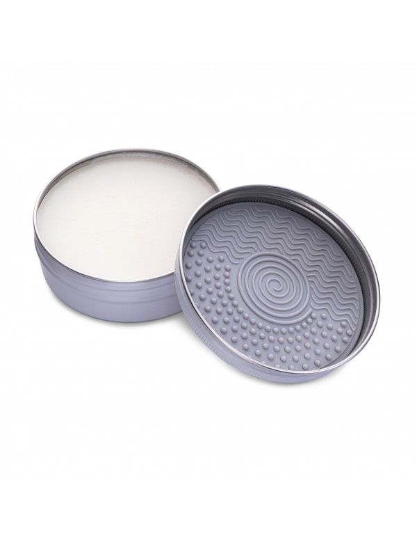 Makeup brush and sponge soap100g with silicone pad