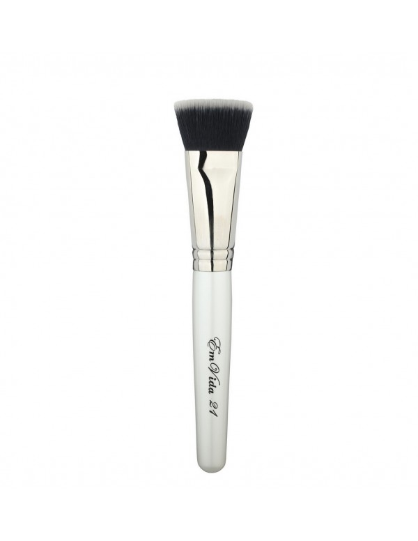 T21 synthetic makeup brush for foundation and contouring