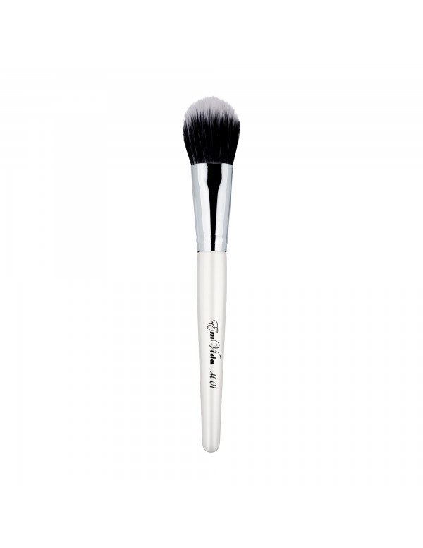 M01 duo fibre makeup brush for foundation and contouring
