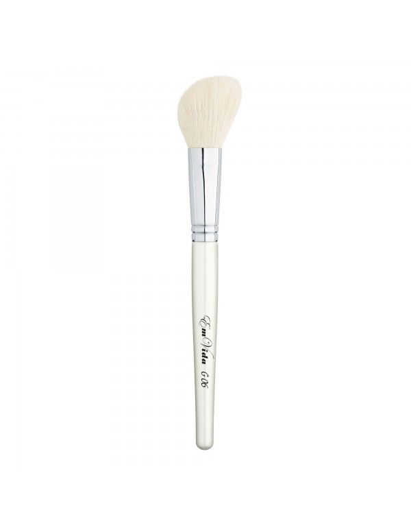 G06 goat hair makeup brush for blushing and contouring