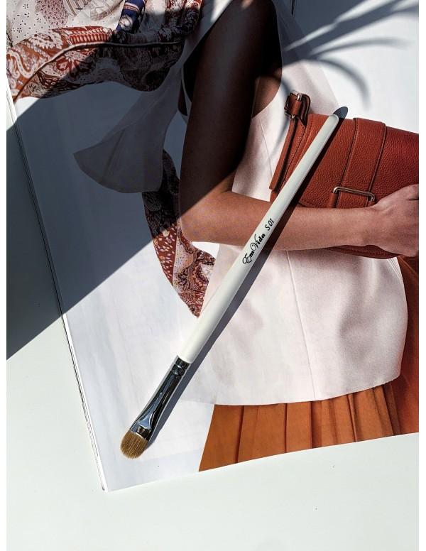 S01 sable hair makeup brush for eyeshadows